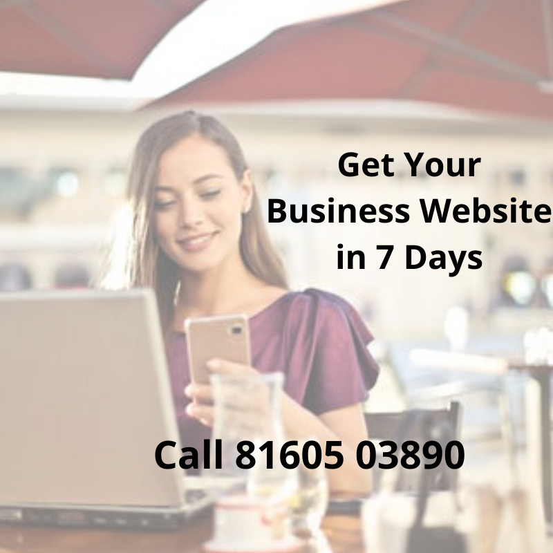 Get Your Business Website in 7 Days